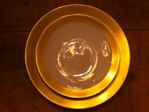 STUNNING ANTIQUE DISHES - with wide gold band North Shore Greater Vancouver Area image 4