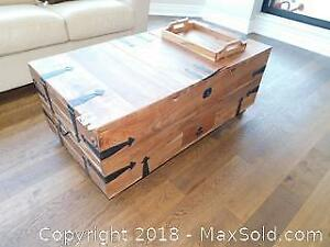 Coffee Table Chest With Storage B