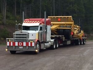 Low Bed Heavy Haul Services RGN Double Drop jeep and Booster Edmonton Edmonton Area image 3