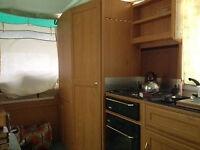 Pennine Trailfinder (variant of Pathfinder) folding camper / trailer tent