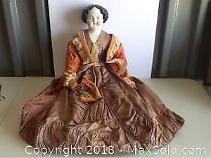 Antique Large Doll