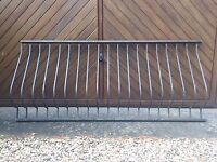two lengths of Iron Railing