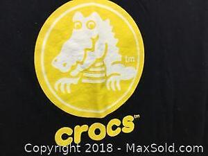 New Crocs Black T-shirt A