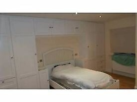Large Double bedroom with en suite toilet and shared bathroom