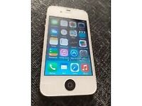 APPLE IPHONE 4 WHITE COLOUR, 16GB ON VODAFONE AND LEBARA NETWORK.