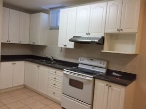 Large two bedroom + Living room basement suite for rent in Maple