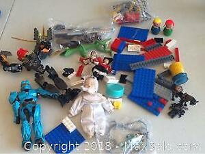 Vintage Lot Of Toys