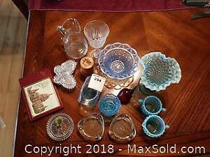 Hobnail Opalescent Glass and More A