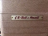 Vintage Bell & Howell 8 mm Portable Projector