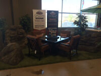 Faux Rocks and Waterfalls now available @ Arctic Spas Saskatoon
