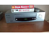 vhs video recorder and DVD recorder for sale. Clear out under way !