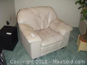 Leather Arm Chair C