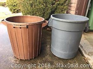 Garbage Cans and Recycling Bins