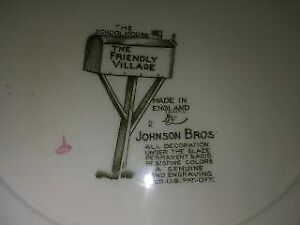 Collector Dish set Johnson Bros -  England The Friendly Village