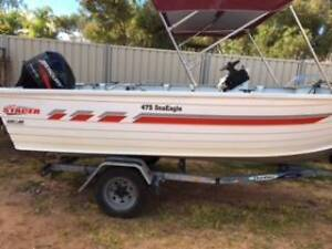Stacer 4.75metre centre console with Mercury 50hp 4 stroke Renmark Renmark Paringa Preview