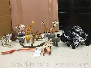 African animals new Night Light New Zombies Zebras