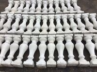 APPOX 46 CONCRETE BALUSTERS FOR SALE £135