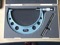 "Mitutoyo 6"" to 7"" micrometer part number 103-183"