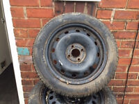 renault clio steel wheel and tyre *TYRE LIKE NEW*