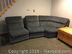 Three Piece Sectional Sofa C