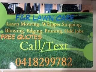 F&R Lawn Care Floreat Cambridge Area Preview