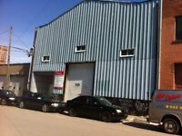 Warehouse Space, Loading Dock, 5000 square feet