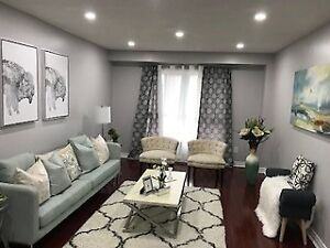Fully Renovated 3 B/R Condo T/H With Fin W/O Bsmt at Prime Locat