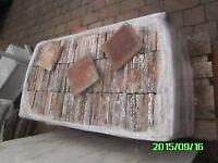 500, Reclaimed Red Quarry Tiles 6x6x3/4 reclaimed (85p each). (Chester) 07840 934368