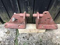 Pair Massey Ferguson Stabilizer brackets to fit MF 65 etc. Part No860867