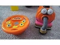 Teletubbies drive and steer noo noo hardly used Excellent condition