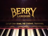 Berry of London Upright Piano