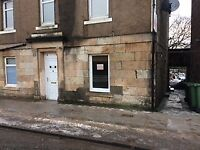 ALLOA - 1 ONE BED GROUND LEVEL FLAT TO RENT UNFURNISHED DSS HB CONSIDERED DEPOSIT TOWN CENTRE