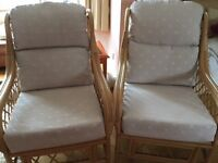Conservatory Furniture 2 chairs VGC
