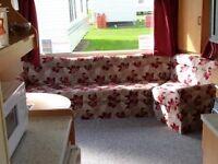 2 BED CARAVAN FOR HIRE MARTELLO BEACH