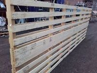 Fence Panels ranch style ideal fir paddock or allotment....