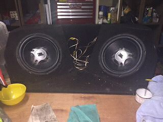Jbl 1200w subs x 2 Cranbourne Casey Area Preview