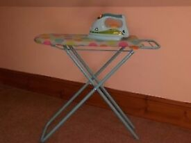 Early Learning Centre (ELC) Toy Ironing Board and Iron (Kitchen Role Play)