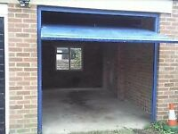 Single garage to rent