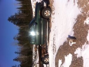 parting out a 2001 chev half ton 4x4