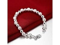 Solid Silver Ladie's Bracelet just £5 in Gift Box and Brand New