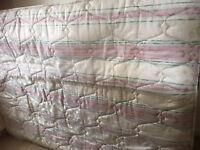 King size mattress, Excellent condition