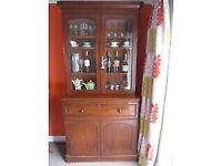 Antique Victorian Secretaire bookcase desk bureau