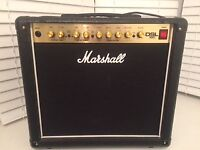 Marshall DSL15C with footswitch in excellent condition.