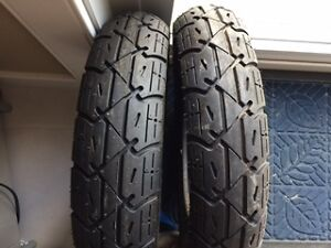 2 Yuanxing scooter tires 3.50-10