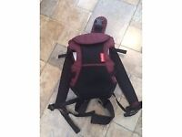 Baby carrying harness never used Excellent condition From smoke and pet free home