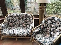 4 piece conservatory suite- good condition