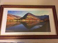Framed Lakeland Photograph