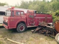Fire truck for rent