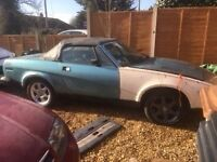 Triumph TR7 convertible for restoration very low milage