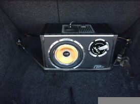 Vibe sub built in amp